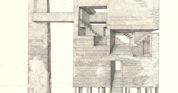 39 tower 3 39 sergey mishin 2013 ink on paper 20x30cm for Architectural drawing paper sizes