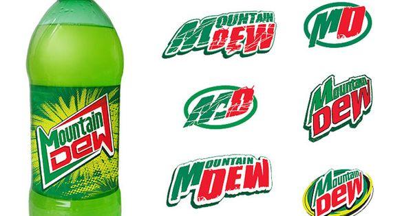 mountain dew logos diet mountain dew pinterest
