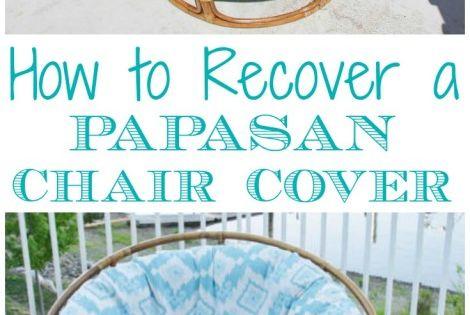 Sew a DIY Papasan Chair Cover | Papasan Chair, Chair Covers and Chairs