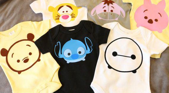 Organic Tsum Tsum Inspired Disney Stitch Baby Clothes By