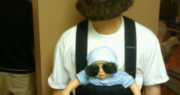 Alan from The Hangover, Funny halloween costume