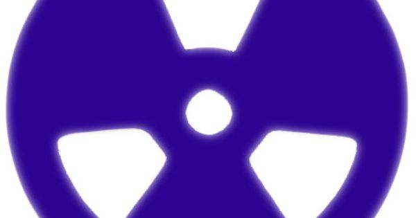 Radioactive acrylic lenses pair acrylics blue and lenses