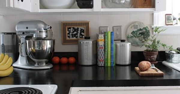 Rustoleum Countertop Paint Tips : Um, who knew you could just paint your countertops? $30 kitchen ...