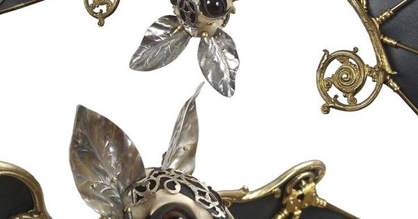 """A bat from the """"Gilded Beasts"""" collection by Jessica Joslin"""