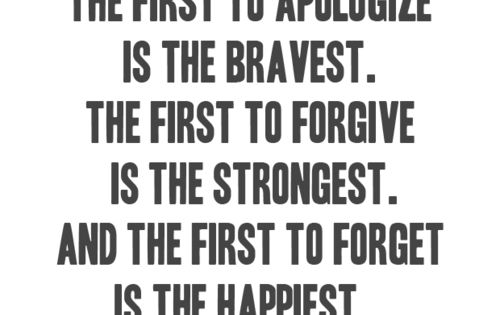Happiness forgiveness inspirational quote