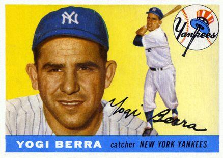 Yogi Isms Yogi Berra Museum Learning Center Yogi Berra Baseball Card Values Baseball Cards