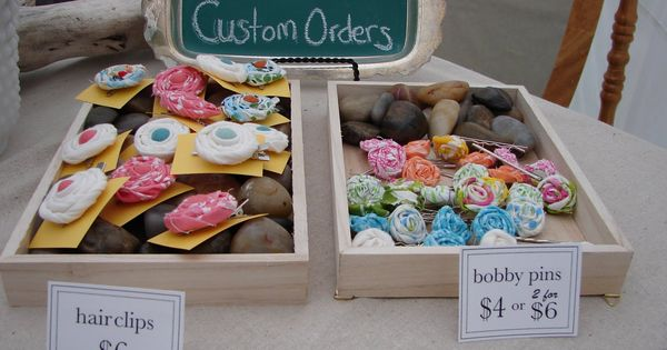 ... Display, Crafts Booths, Wood Boxes, Hair Bows, Display Ideas, Hair