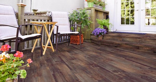Lodge Tobacco Wood Plank Porcelain Tile