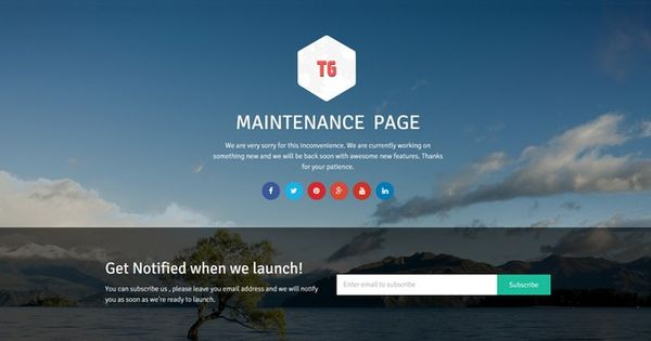 Create A Free Coming Soon Page With The Wordpress Maintenance Page Plugin Wordpress Maintenance Wordpress Coming Soon Page