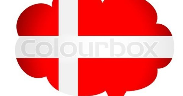 Vector Of Denmark Flag On Colourbox Denmark Flag Flag Vector Flag