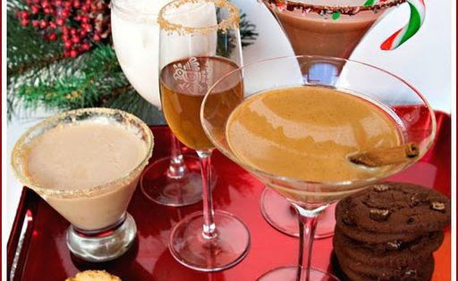 Christmas Cookie Cocktails, recipes cocktails de-lish