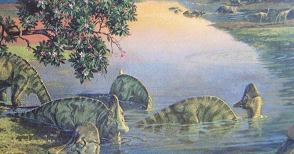 Corythosaurus By Ely Kish