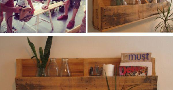 Tablette DIY Lesrockalouvescom Pinterest Wood