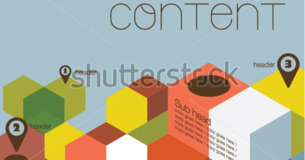 stock vector : Poster design/Layout design/Colorful cubes