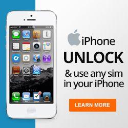 Apple iphone 4 unlock code