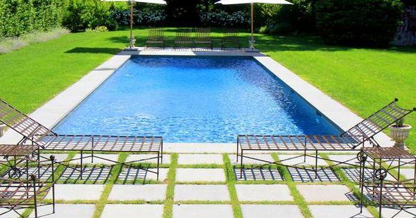 A Basic Backyard Gets a Posh Pool Makeover