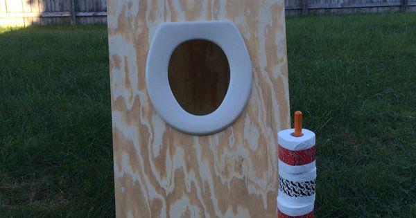Toilet Paper Toss Carnival Game Work Stuff Pinterest