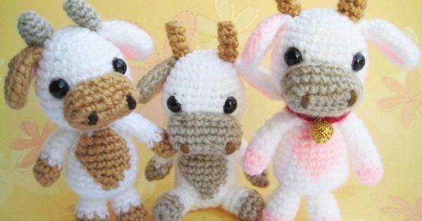 Tutorial Amigurumi Vaca : cow amigurumi free pattern by jane Brenleys Crochet ...