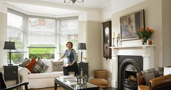 Image result for 1930s picture rails living room for Modern 1930s living room