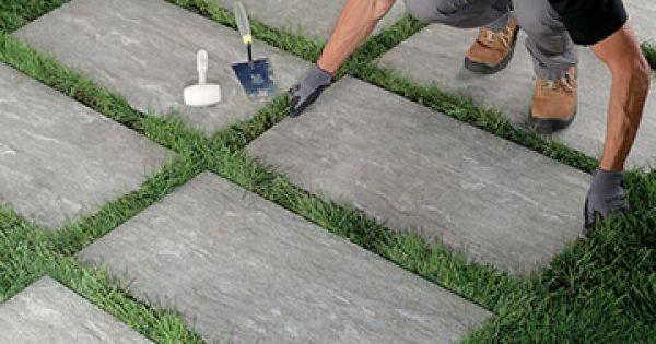 Carrelage 2cm Pose Sur Pelouse Comment Poser Dalles 20mm Sur Herbe Dalles Dalle Jardin Dalles Terrasse Exterieur