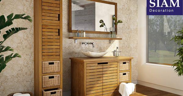 Meuble salle de bain 110cm pr t poser mod le pacific - Joint pret a poser salle de bain ...