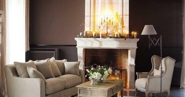 fauteuil manoir maisons du monde pinterest salons. Black Bedroom Furniture Sets. Home Design Ideas