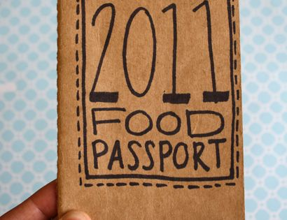 Food Passport: For trying new restaurants or maybe new foods?