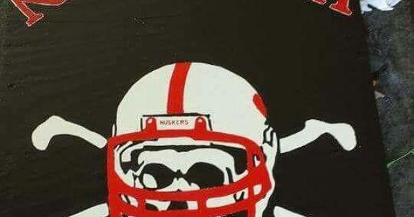 Nebraska Blackshirts Cornhole Boards Eds Cornhole Boards