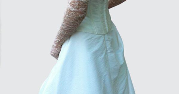 Belle Robe de mariée de chez Tati Mariage couleur ivoire  Robes de ...