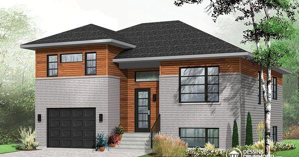 D Tail Du Plan De Maison Unifamiliale W3490 Maison
