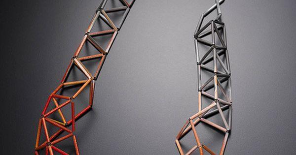 meghann jones neckpiece by metalab gallery, via Flickr