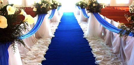 The Meanings Of Colors In Weddings Blue Wedding Decorations