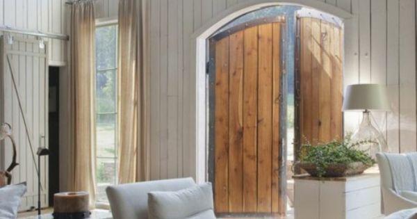 barn doors = front doors !
