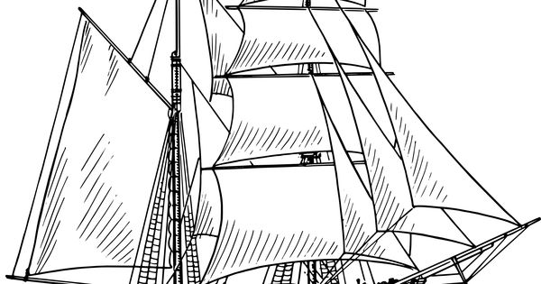 google coloring book pages boats - photo#24