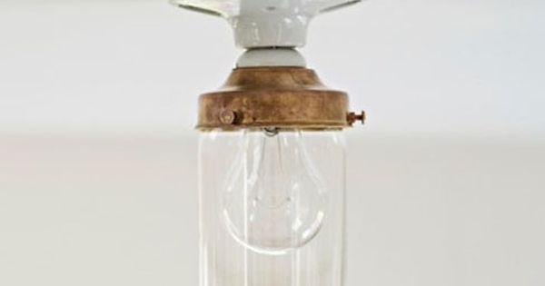 Crystal Jelly Jar Light Fixture By Deborah Ehrlich Via Artware Editions    Lighting   Pinterest   Jelly Jars And Jar Lights