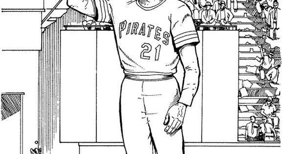 pirates logo baseball coloring pages - photo#32