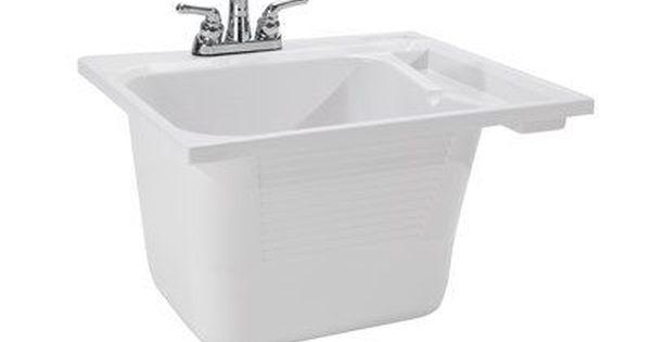 Cashel 25 X 22 Drop In Laundry Sink With Faucet Utility Sink Drop In Sink Sink