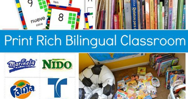 Classroom Decoration Ideas Images ~ Must haves for a bilingual print rich environment