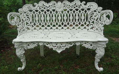 Antique Victorian Cast Iron Garden Settee Bench Garden Furniture Pinterest Settees Bench