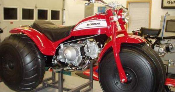 Vintage Motorsports Photo Gallery Vintage Honda Motorcycles Honda Trike Vw Trike