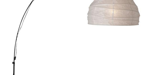 Regolit Floor Lamp Arc White Black The Shade Floor