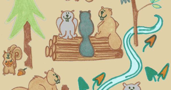Lazy Beavers in Beige ...