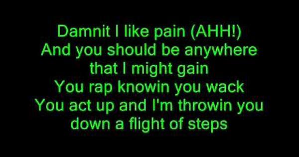 Eminem Scary Movie Lyrics Eminem Scary Movies Lyrics