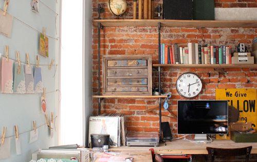 home office bureau domicile tendance decor deco bureau bureau deco decoration maison. Black Bedroom Furniture Sets. Home Design Ideas