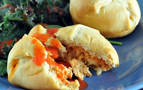 Buffalo Chikn Tarts Vegan Recipe - Perfect for parties!