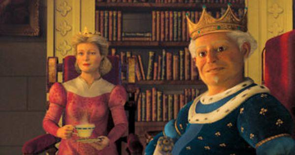 Shrek 2 Queen Lillian Julie Andrews And King Harold John