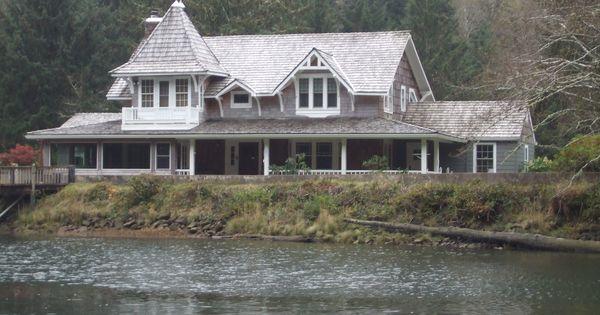 Movie house on the siletz river