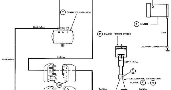 65 Mustang Starter Solenoid Wiring