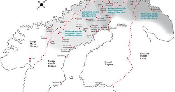 Maps On The Web Map Sami Norway
