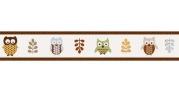 Sweet Jojo Designs Night Owl Wallpaper Border Jojo Designs Sweet Jojo Designs Owl Wallpaper